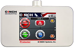 CINCH systems Encrypted Touch Screen Control Surface Mount