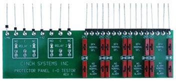 CINCH-On Protector Panel Relay Supervision Tester Interface
